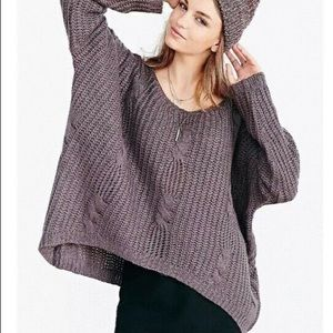 Unif Urban Outfitters Sweater Gray Chunky Knit